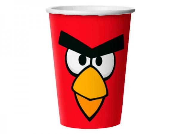 Copo descartavel Angry Birds: