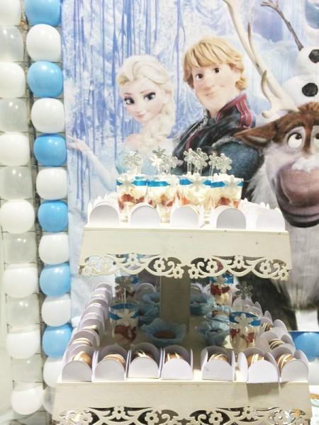 Doces Frozen: