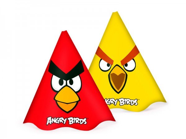Chapéu Angry Birds: