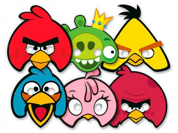 Mascaras Angry Birds: