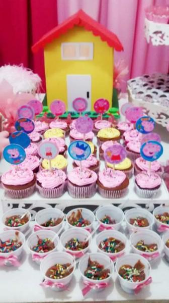 Cupcakes Peppa Pig: