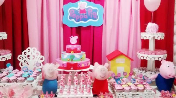 Decoração Peppa Pig: