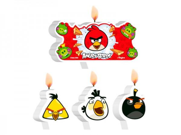 Vela de Aniversário Angry Birds:
