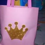 Sacola de Lembrancinha Coroa de Princesa