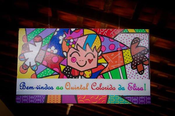 decoracao festa quintal:Romero Britto – Festa da Leitora Tercia!