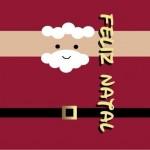 Rótulo Batom Papai Noel