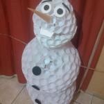 Boneco de Neve Frozen Olaf com Copos