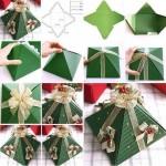 Caixa árvore de Natal