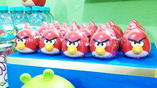 Lembrancinhas Angry Birds