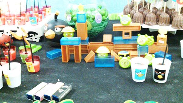 Decoração Festa Angry Birds
