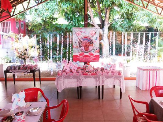 Decoração Festa Jardim Encantando: