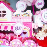 Brigadeiros e Toppers Festa Hello Kitty