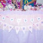 Bandeirinha Varalzinho Hello Kitty