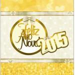 Bala Personalizada Ano Novo 2015.