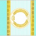 Bala Personalizada Coroa de Príncipe Verde