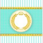 Bala Personalizada Coroa de Príncipe Verde 2
