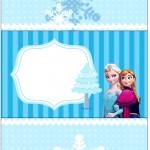 Bala Personalizada Frozen Azul