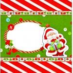 Bala Personalizada Natal Vermelho e Verde