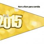 Bandeirinha Sanduche 6 Ano Novo 2015