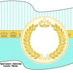 Bandeirinha Sanduiche 1 Coroa de Príncipe Verde