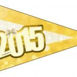 Bandeirinha Sanduiche 7 Ano Novo 2015