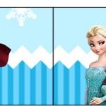 Bandeirinha Sanduiche Frozen Azul