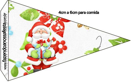 Bandeirinha Sanduiche Natal 1