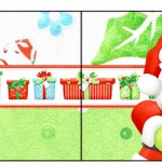 Bandeirinha Sanduiche Natal