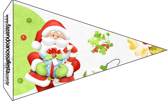 Bandeirinha Sanduiche Natal 3