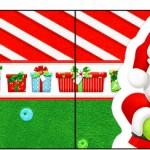 Bandeirinha Sanduiche Natal Vermelho e Verde