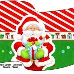Bandeirinha Varalzinho Natal Vermelho e Verde 1
