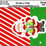 Bisnaga Brigadeiro 15 gr Natal Vermelho e Verde