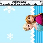 Bisnaga Brigadeiro Frozen Azul