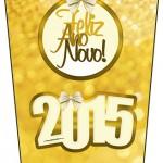 Bisnaga Flip Top Ano Novo 2015