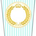 Bisnaga Flip Top Coroa de Príncipe Verde