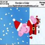 Bisnaga Brigadeiro 15gr Peppa Pig Natal