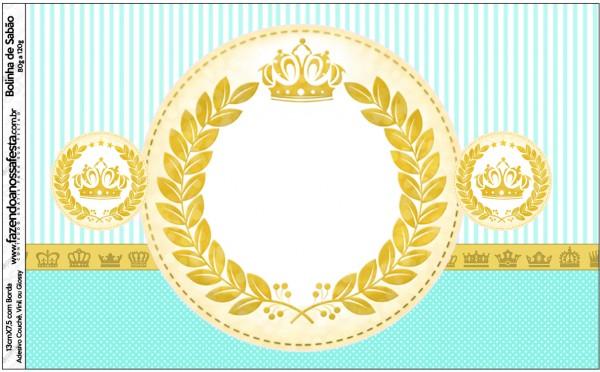 Bolinha de Sabão Coroa de Príncipe Verde