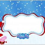 Bolinha de Sabão Peppa Pig Natal