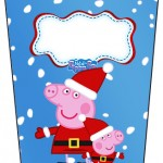 Brisnaga Flip Top Peppa Pig Natal