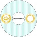 CD DVD Coroa de Príncipe Verde