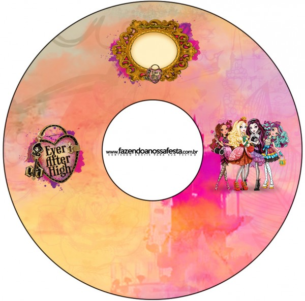 CD DVD Ever After High