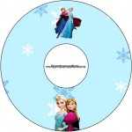 CD DVD Frozen Azul
