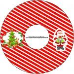 CD DVD Natal Vermelho e Verde