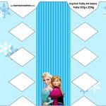 Caixa Bala Frozen Azul
