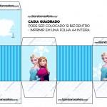 Caixa Bis Frozen Azul