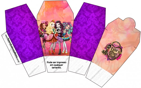 Caixa China in Box Ever After High