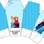 Caixa China in Box Frozen Azul