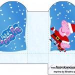 Caixa Coração Peppa Pig Natal