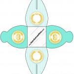 Caixa Coroa de Príncipe Verde