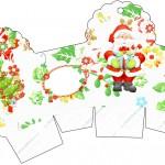 Caixa Cupcake Natal